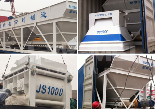 2015-07, HZS35 ready mix concrete plants to Uzbekistan