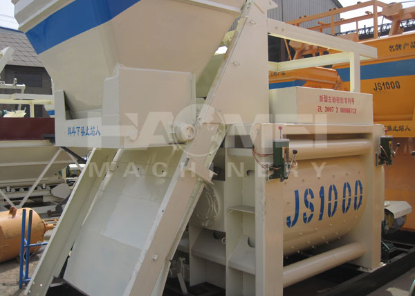 2015-04-30, JS1000 Concrete Mixer and PLD1600 Batching Plant to Sri Lanka