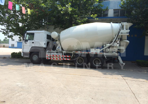 Concrete mixer truck export to Vietnam