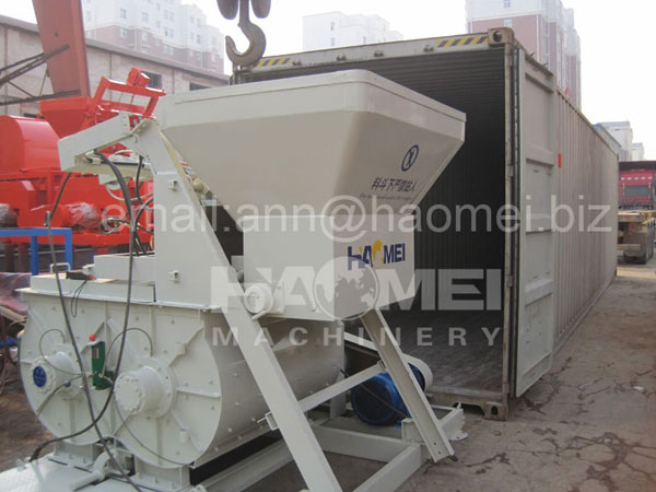 HZS25 Concrete Batching Plant Packing