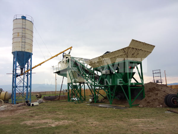 YHZS60 Mobile Batching Plant